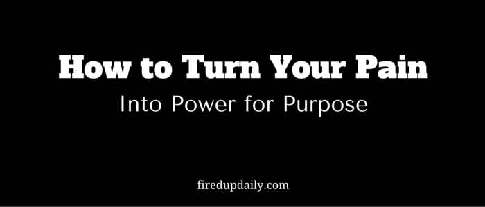 Growing From Pain to Power for Purpose